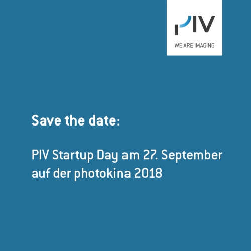Save the date: PIV Startup Day