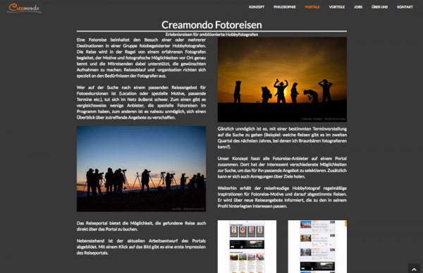 Creamondo Website © Creamondo