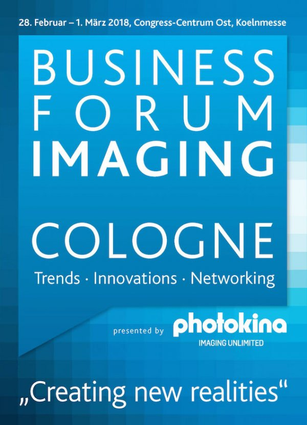 Business Forum Imaging Cologne 2018 - Creating new realities