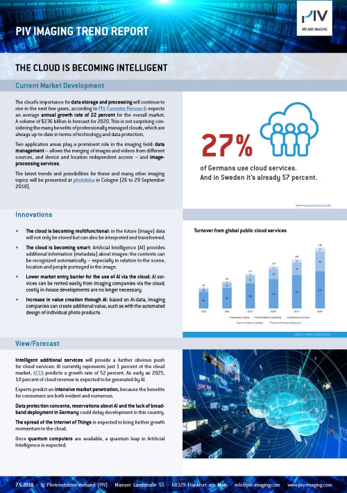 PIV Imaging Trend Report 2018 - The cloud is becoming intelligent